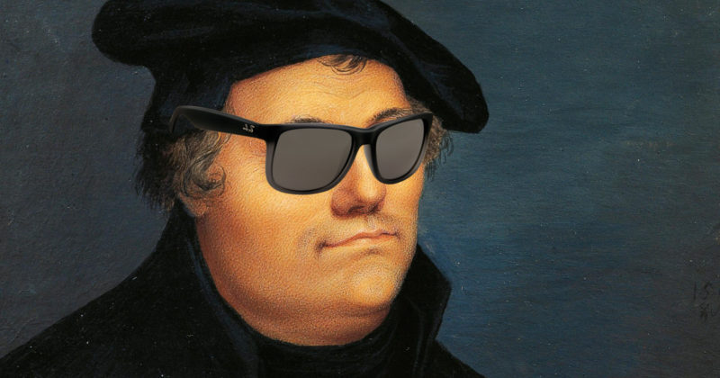 I've got 95 theses but an indulgence aint one